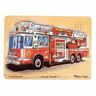 Melissa and Doug Fire Truck Sound Puzzle - click to enlarge