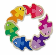 Melissa and Doug Friendly Fish Grasping Toy - click to enlarge