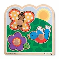 Melissa and Doug In The Garden - Jumbo Knob - click to enlarge