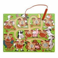 Melissa and Doug Magnetic Number Maze - click to enlarge
