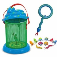Melissa and Doug Mombo Snake Bug House with Magnifying Glass and Bag of Bugs - click to enlarge