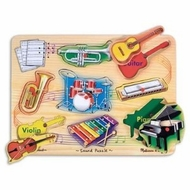 Melissa and Doug Musical Instruments Puzzle - click to enlarge