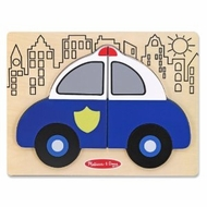 Melissa and Doug My First Chunky Puzzle - Police Car - click to enlarge