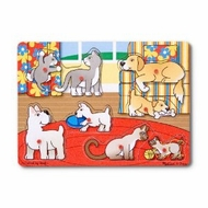 Melissa and Doug Pets Peg Puzzle - click to enlarge
