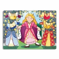 Melissa and Doug Princess Dress-Up Mix 'n Match Peg - click to enlarge