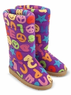 Melissa and Doug Ricky Boot Slippers - click to enlarge