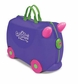 Melissa and Doug Ride-On Traveling Luggage Trunki : Iris (Purple)