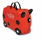 Melissa and Doug Ride-On Traveling Luggage Trunki : Ruby (Red)