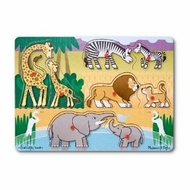 Melissa and Doug Safari Peg Puzzle - click to enlarge