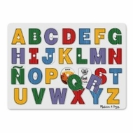 Melissa and Doug See-Inside Spanish Alphabet Peg - click to enlarge