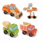 Melissa and Doug Stacking Construction Vehicles