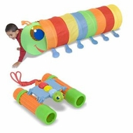 Melissa and Doug Sunny Patch Happy Giddy Tunnel and Outdoor Bundle - click to enlarge