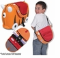 Melissa and Doug Trunki Saddlebag Orange/Red