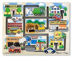 Melissa and Doug Vehicles Maze Puzzle - click to enlarge