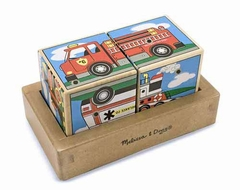 Melissa and Doug Vehicles Sound Blocks - click to enlarge
