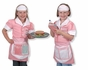 Melissa and Doug Waitress Role Play Costume Set #4787