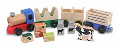 Melissa and Doug Wooden Farm Train - click to enlarge