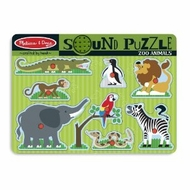 Melissa and Doug Zoo Animals Sound Puzzle - click to enlarge