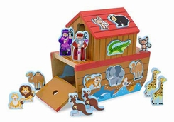 Melissa & Doug #3786 Noah's Ark Shape Sorter - click to enlarge