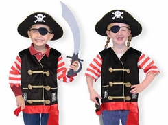 Melissa & Doug # 4848 Pirate Costume Role Play Set - click to enlarge