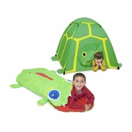 Melissa & Doug Boys Outdoor Bundle - Tent & Sleeping Bag