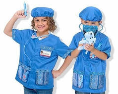 Melissa & Doug Children's Veterinarian Role Play Costume Set - click to enlarge