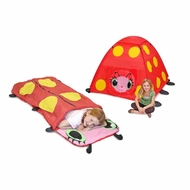 Melissa & Doug Girls Mollie Outdoor Bundle - Tent & Sleeping Bag