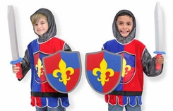 Melissa & Doug Knight Costume Role Play Set - click to enlarge