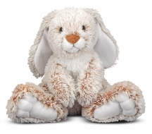 "Melissa & Doug Princess Soft Toys 14"" Plush Burrow Bunny - click to enlarge"