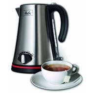 Melitta 40991 1.7-Liter Cordless Kettle - click to enlarge