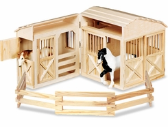 Mellissa & Doug 785 Folding Horse Stable - click to enlarge