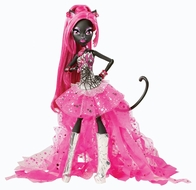 Monster High Doll Superstitious Pop Star CATTY NOIR Black Cat Daughter of the Werecats - click to enlarge