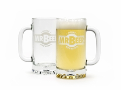 Mr Beer Glass Mug - click to enlarge