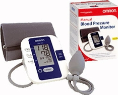 Omron HEM-432C Blood Pressure Monitor - click to enlarge