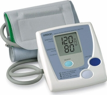 Omron HEM-712C Automatic Blood Pressure Monitor - click to enlarge