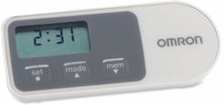 Omron HJ-320 Tri-Axis Pedometer - click to enlarge