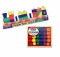 Preschool Boy Lacing Stacking Gift Set Primary Lacing Beads and Stacking Block Train By Melissa and Doug