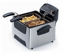 Presto 05466 ProFry 12 Cup Immersion Deep Fryer - click to enlarge