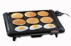 Presto 07045 Cool Touch Electric Tilt'nDrain Griddle - click to enlarge