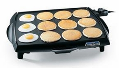 Presto 07046 BigGriddle Cool Touch Griddle - click to enlarge