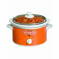Proctor Silex 33112Y 1.5 Quart Slow Cookers, Orange - click to enlarge