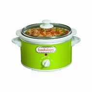 Proctor Silex 33113Y 1.5 Quart Slow Cookers, Green - click to enlarge