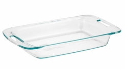 Pyrex 1085782 3 Quart 9in x 13in Oblong Clear Baking Dish - click to enlarge