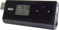 RCA TH1814 4 GB MP3 Player with Flipout USB and Display - click to enlarge