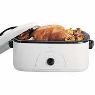 Rival RO165BR-T 16 Qt. Buffet Roaster Oven - click to enlarge