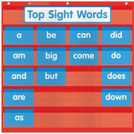Scholastic Teacher's Friend Word Wall Pocket Chart - click to enlarge
