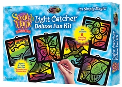 Scratch Magic Light Catcher Deluxe Set - click to enlarge