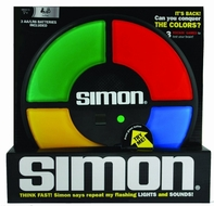 SIMON - The Electronic Memory Game - click to enlarge