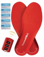 ThermaCell Rechargeable Heated Insole Large - click to enlarge