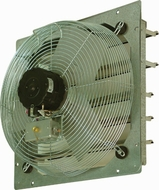 TPI CE 16-DS 16'' Shutter Mounted Direct Drive Exhaust Fan - click to enlarge